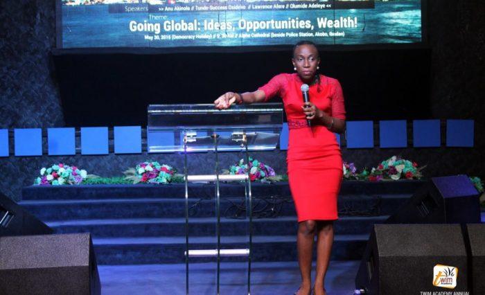 Anu Akinola speaking at TAAC 2016